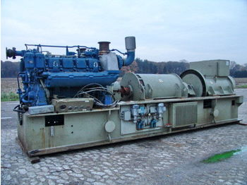 MTU 500KVA ONLY 70 HOURS STROMAGGREGATE  - construction machinery