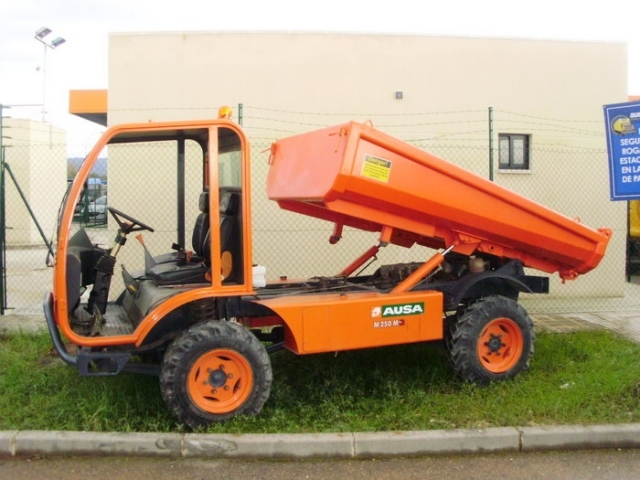 ausa dt 250 mini dumper from spain for sale at truck1 id. Black Bedroom Furniture Sets. Home Design Ideas