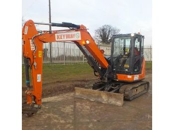 2016 Hitachi ZX65USB-5A CLP - mini excavator