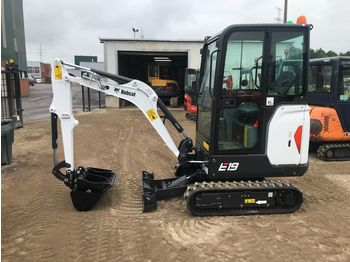 Mini excavator BOBCAT E19