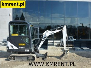 BOBCAT E 16 | JCB 8018 8025 8030 8015 8016 CAT 302.5 303 301.6 301.8 YA - mini excavator