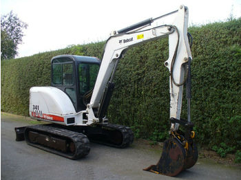 Bobcat 341G  - mini excavator