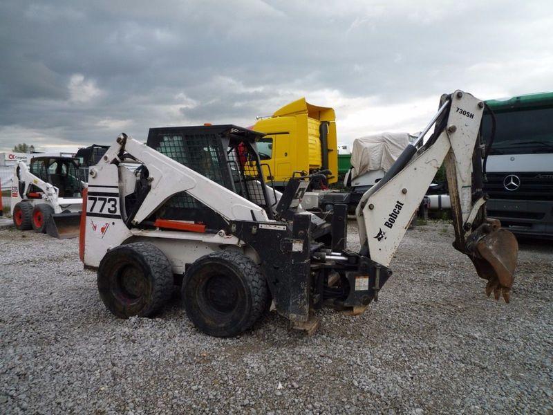 Mini excavator Bobcat 773 - Truck1 ID: 2626558