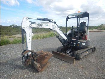 Mini excavator Bobcat E26