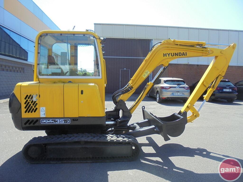 Mini excavator HYUNDAI ROBEX 35-7 - Truck1 ID: 3944103
