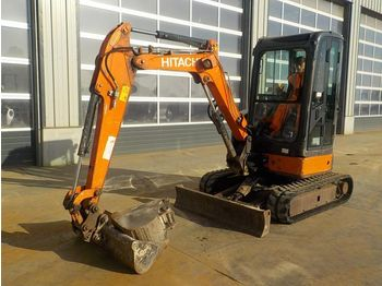 Mini excavator Hitachi ZX29U
