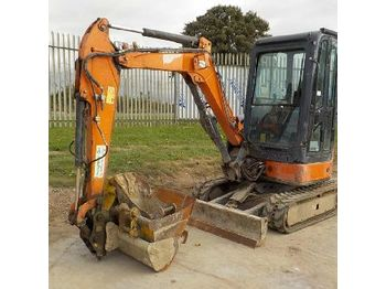 Hitachi ZX29U-3 - mini excavator
