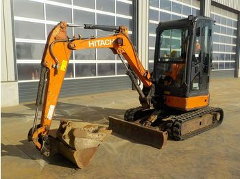 Mini excavator Hitachi ZX29U-3