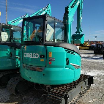 Kobelco SK35SR-6 mini excavator from Germany for sale at