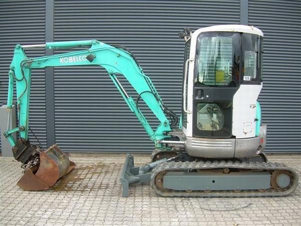 Mini excavator Kobelco SK 35 SR - Truck1 ID: 826078