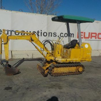 Komatsu PC05-5 mini excavator from Spain for sale at Truck1