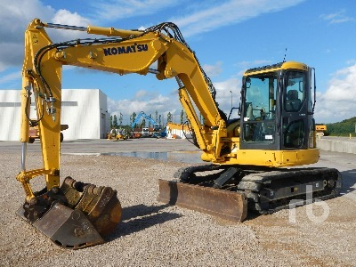 Komatsu PC88 MR6 mini excavator from France for sale at