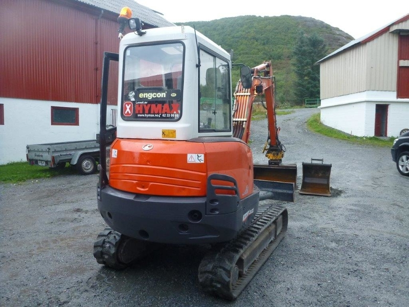 kubota kx 101 3 mini excavator from norway for sale at truck1 id 1445493. Black Bedroom Furniture Sets. Home Design Ideas