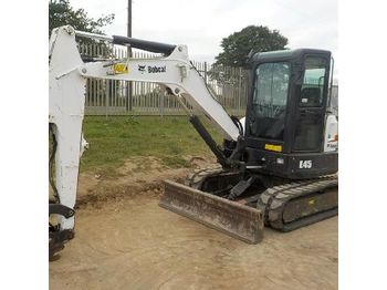 LOT # 0252 -- 2015 Bobcat E45EM - mini excavator