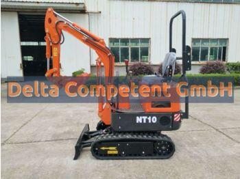 Microbagger Nante NT10 - 910 kg NEU Löffelpaket  - mini excavator