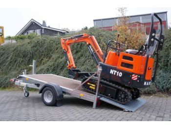 Microbagger Nante NT10 - 910 kg mit Kippanhänger  - mini excavator