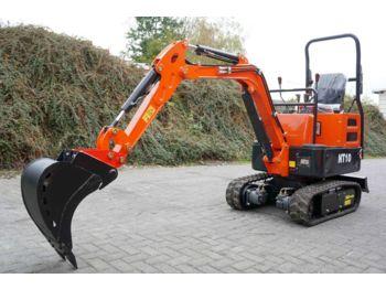 Microbagger Nante NT10 - 920 kg MS01 Schnellwech  - mini excavator