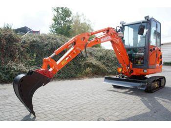 Nante NT18 mit MS01 Schnellwechsler  - mini excavator