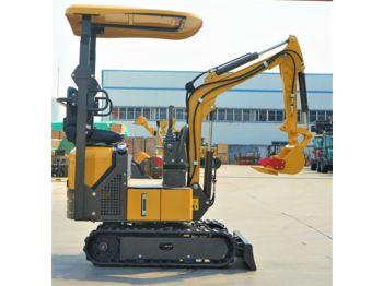 New CLC TX 1000 - mini excavator