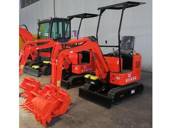 New CLC T 1000 - mini excavator