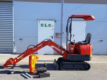 New CLC T 800 - mini excavator