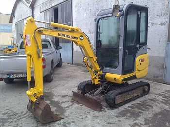 New Holland E 18 C - mini excavator