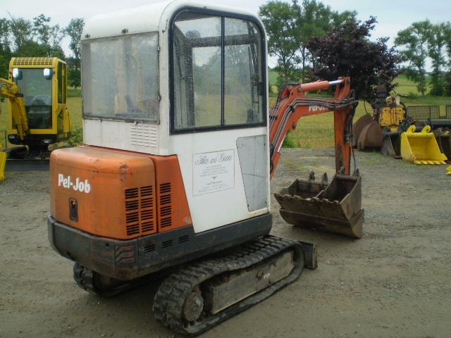 pel job eb16 mini excavator from germany for sale at truck1 id 787205. Black Bedroom Furniture Sets. Home Design Ideas