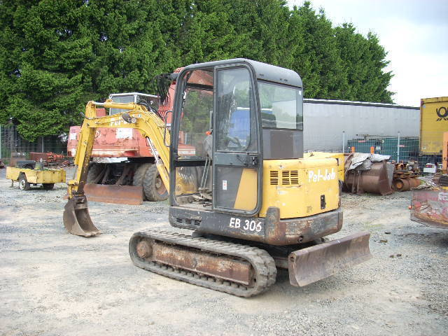 pel job eb 306 mini excavator from germany for sale at truck1 id 1180641. Black Bedroom Furniture Sets. Home Design Ideas