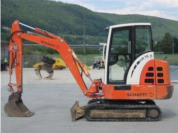 SCHAEFF HR16 - mini excavator