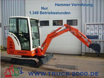 SCHAEFF HR 12 Minibagger neuw. / Zustand / nur 1349 BS - mini excavator