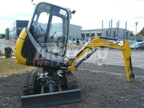 Wacker Neuson 2404RD mini excavator from United Kingdom for sale at