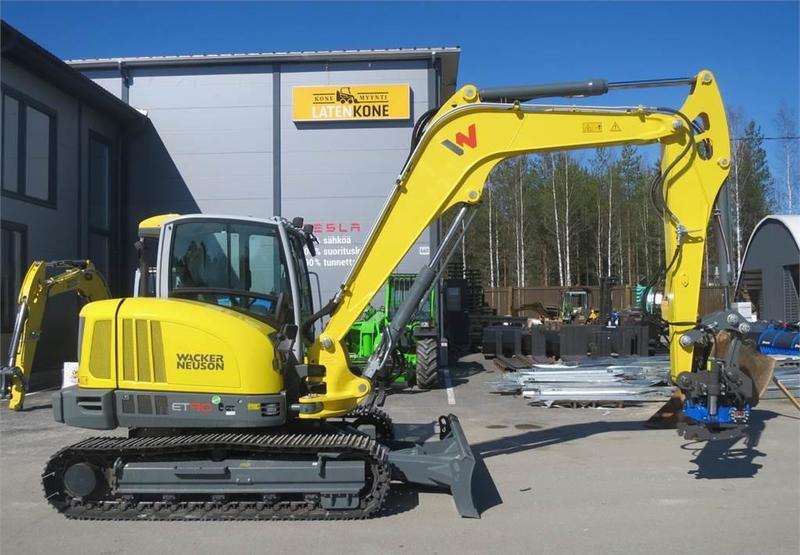Mini excavator Wacker Neuson ET90 kaivinkone - Truck1 ID: 3076538