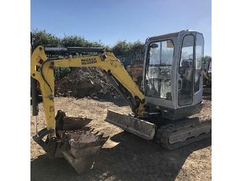 Wacker Neuson EZ28 mini excavator from Germany for sale at Truck1