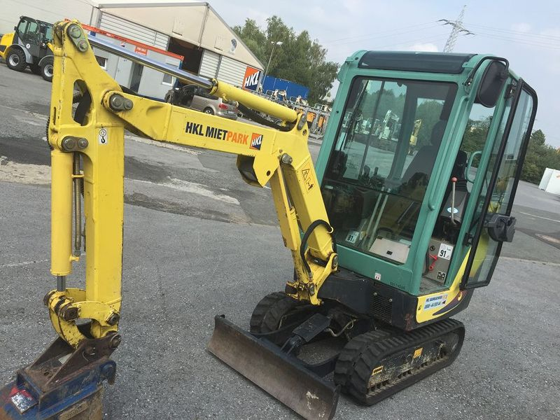 yanmar sv 17 mini excavator from germany for sale at. Black Bedroom Furniture Sets. Home Design Ideas