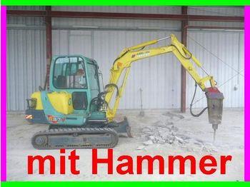 Yanmar B 37 V, mit Hydr. Hammer - mini excavator