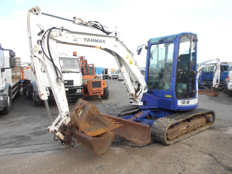 mini excavator Yanmar ViO50