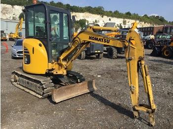 komatsu PC26MR-3 - mini excavator