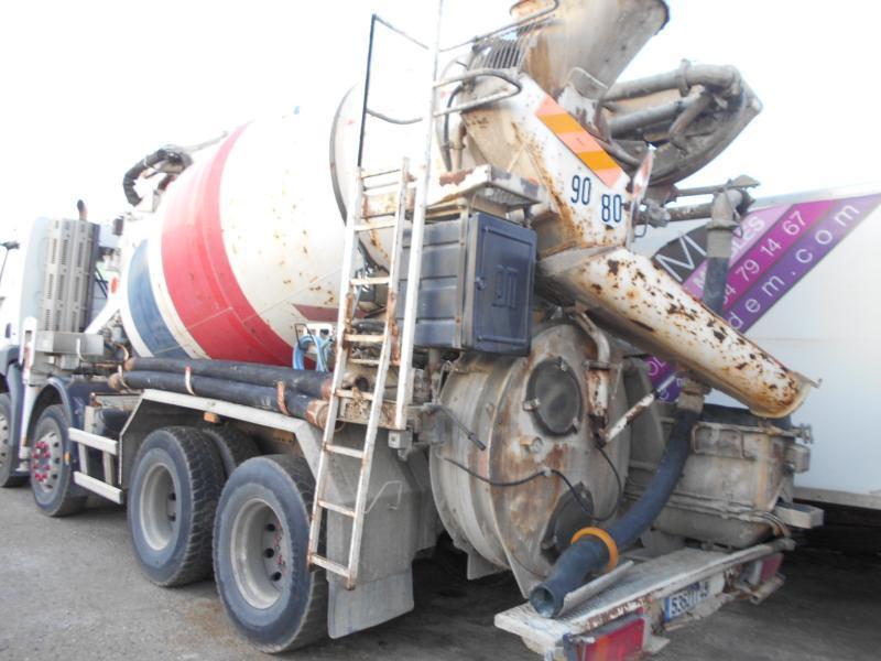 mixer pump truck Renault Kerax 370