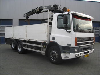 Mobile crane DAF CF75-250 6x2 / 4 HIAB Roller 10 Ton: picture 1