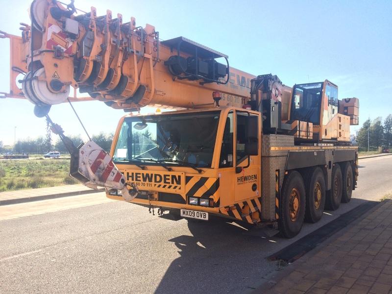 Mobile crane DEMAG AC 80/2 - Truck1 ID: 2937146
