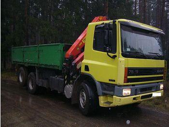 Mobile crane Daf 75 300 + crane: picture 1