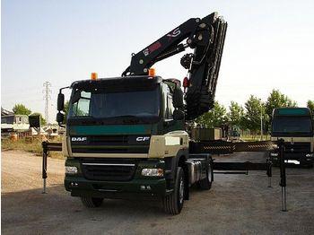 Mobile crane Daf cf 85 - 410 - 4x2 + Kran Hiab 477 xs: picture 1