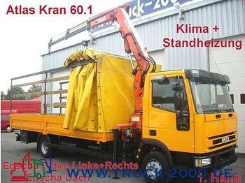 IVECO 80 E 21 Edscha R+L+Dach+Atlas 60.1h.Fhs.faltbar - mobile crane