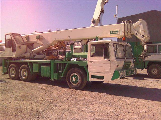Fantastyczny LUNA 25-28 mobile crane from Norway for sale at Truck1, ID: 1055810 UJ93