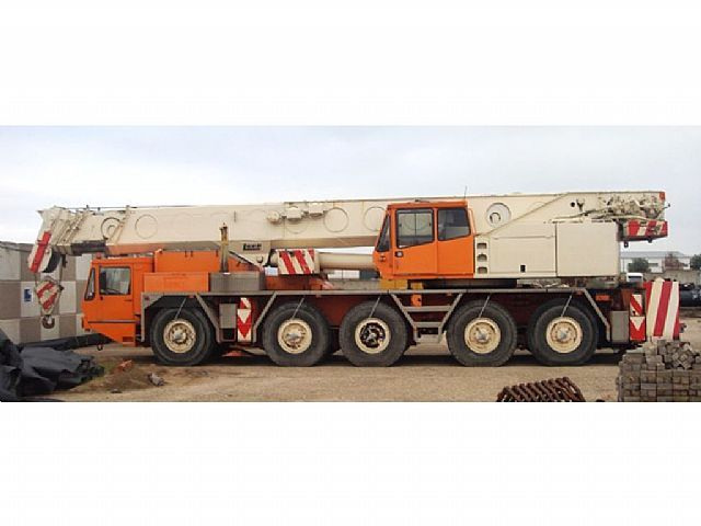 W Mega Luna AT 120/47 - 120 tons mobile crane from Germany for sale at SL14