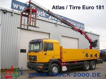 MAN 26.364 6x4 m. Atlas/Tirre  Euro181 12,70m=1,07t. - mobile crane