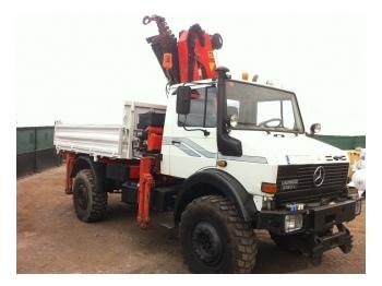 Unimog For Sale >> MERCEDES-BENZ UNIMOG 2150 L mobile crane from Austria for ...