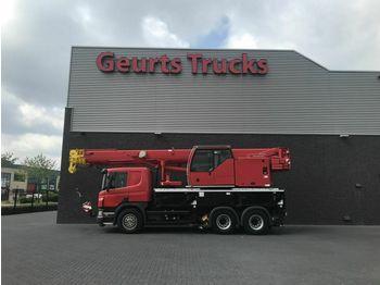 Mobile crane Scania LIEBHERR LTF 1035 KRAN/KRAAN/CRANE /MONTAGEKRAN/