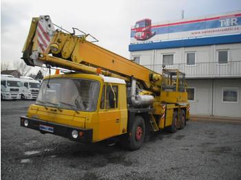 Tatra 28 new motor - mobile crane