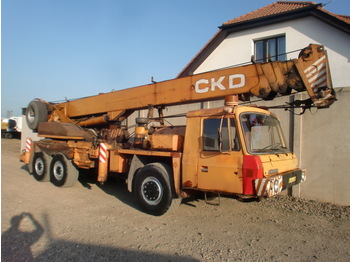 Tatra T815 - mobile crane